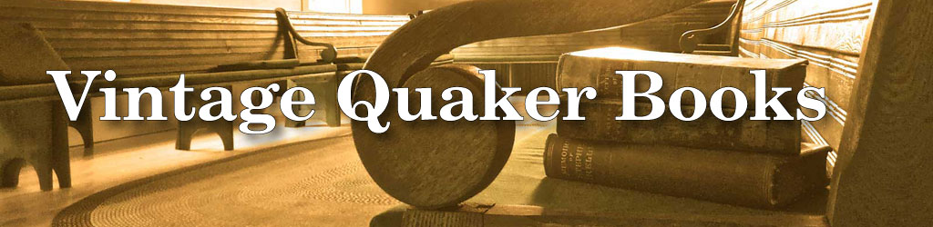 Vintage Quaker Books